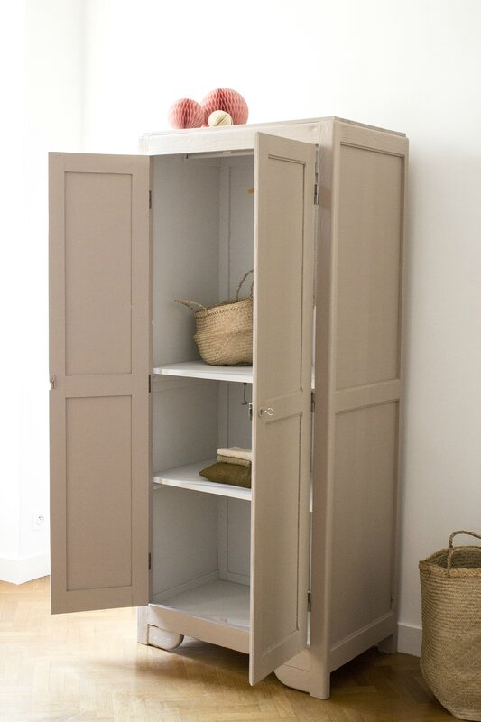 Armoire parisienne dead salmon farrow & ball TRENDY LITTLE 2