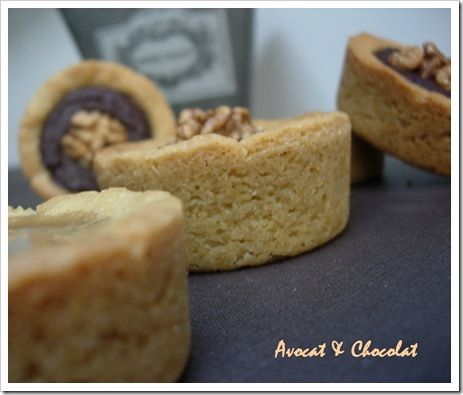 Palets bretons fourrés caramel au beurre salé et chocolat