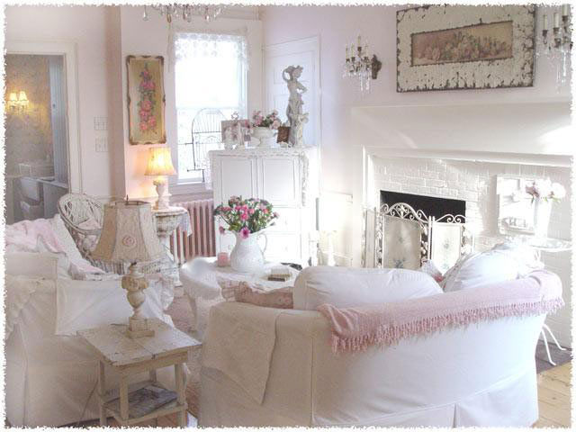 home romantic shabby romantic. Black Bedroom Furniture Sets. Home Design Ideas