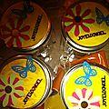 Bocaux a cookies : millesime 2012