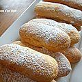 De très bons biscuits cuillère
