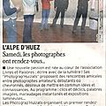 On en parle dans la presse.... lancement des photograp'huizats