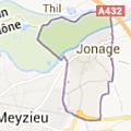 Jonage : commune grand-lyonnaise de la rive-gauche du rhône
