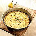 Tarte sucree salee aux poires 6pp