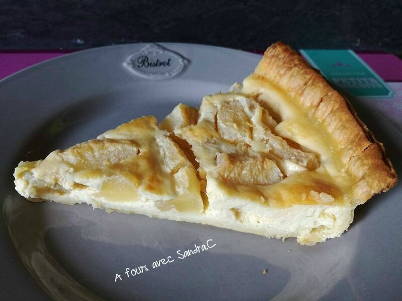 tarte aux poires 2