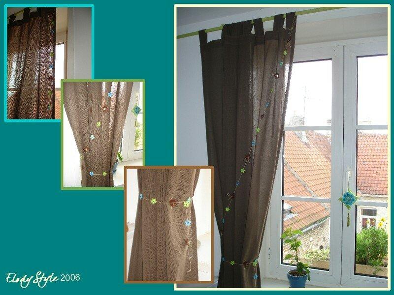 rideau fait maison zs77 jornalagora. Black Bedroom Furniture Sets. Home Design Ideas