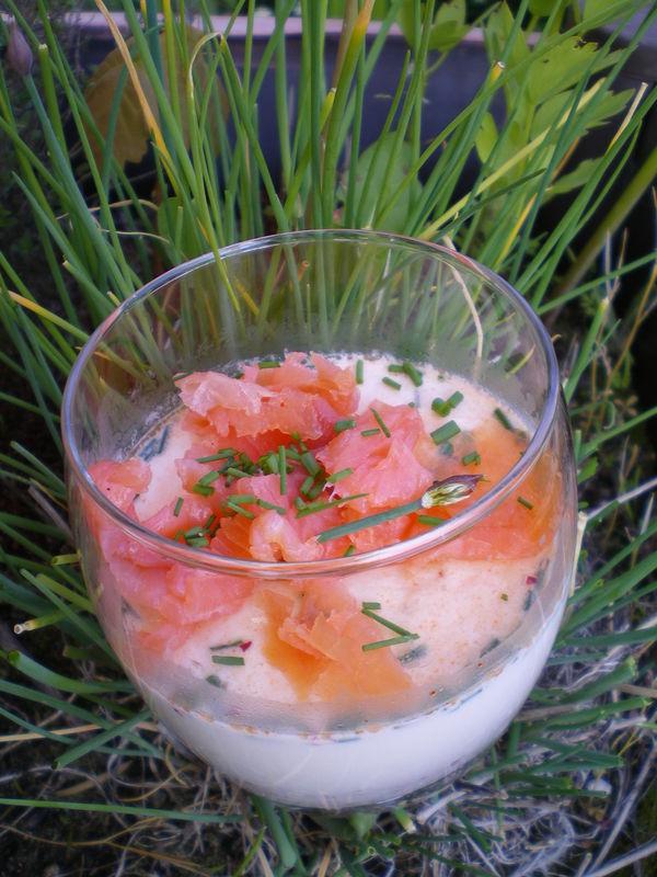 Panna cotta de saumon fum cuisiner avec ses 5 sens - Cuisiner avec du mascarpone ...