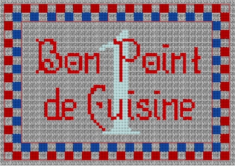 Bon point cuisine rouge photo de les bons points diagrammes de broderie ty jecyka la - Cuisine point p ...