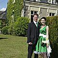 Mon mariage home made: les tenues des mariés