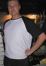 Tshirt raglan modèle papa