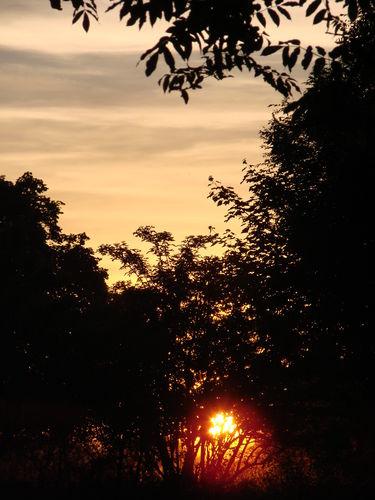 2008 06 18 Le coucher du soleil