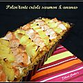 Polen'tarte créole saumon & ananas
