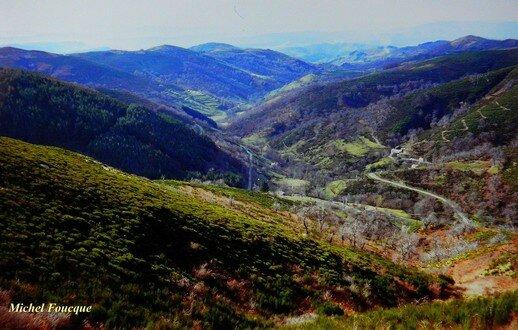 1378) Vélo vers Antraigues sur Volane (Ardèche)
