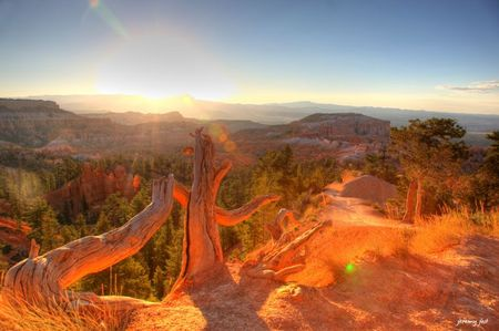 bryce canyon sunrise hdr 6