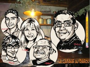 caricature serveurs bar saint di des vosges 88