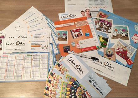 carte de visite oika oika
