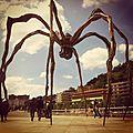 Bilbao, Musée Guggenheim, Maman, instagram (Espagne)