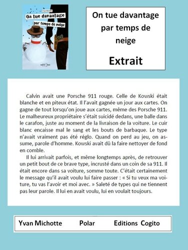 Extrait 1 On tue davantage