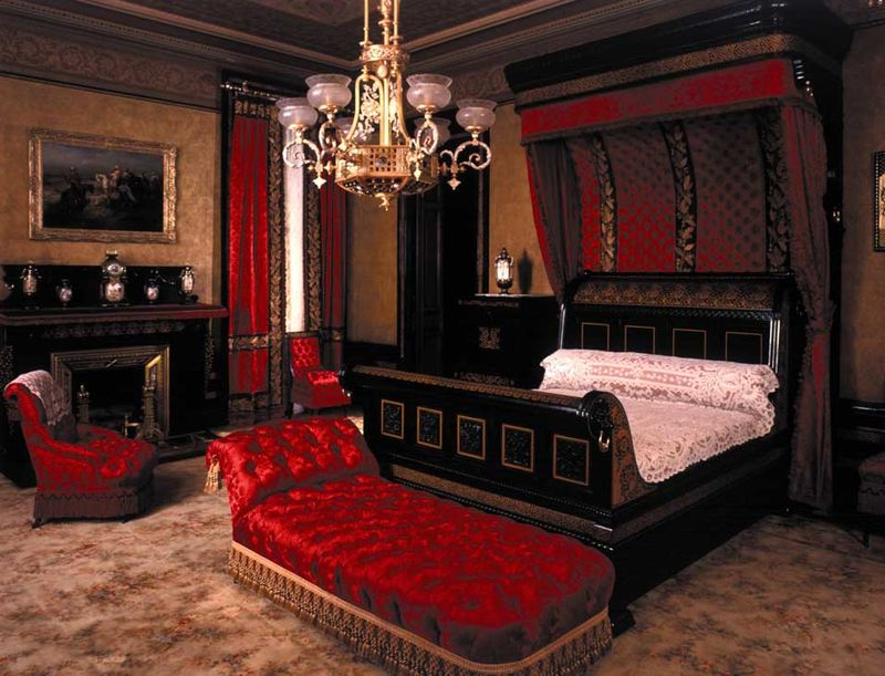 red mansion master bedrooms master bedroom of the