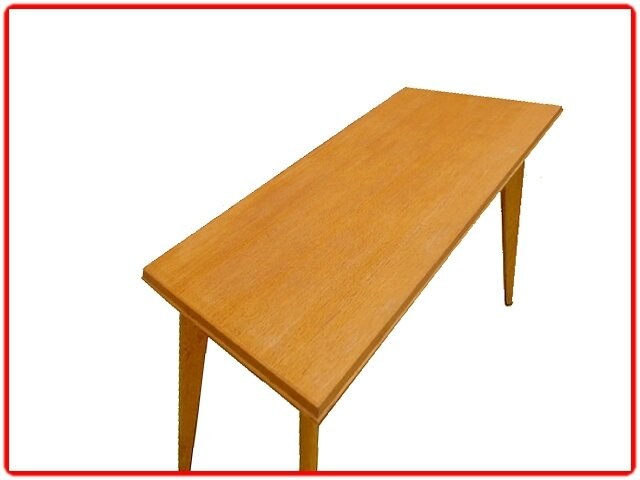 Table console bureau scandinave ed sam 1950 meubles et for Table etroite extensible