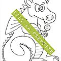Tampon digital (free digital stamp) dragon