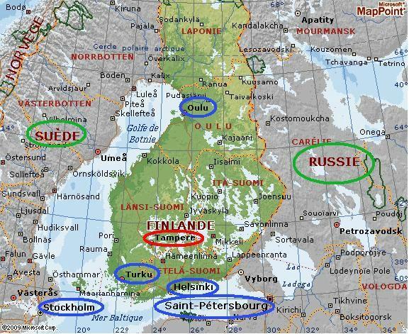 La Finlande c'est pour bientôt !  Finland as an Erasmus