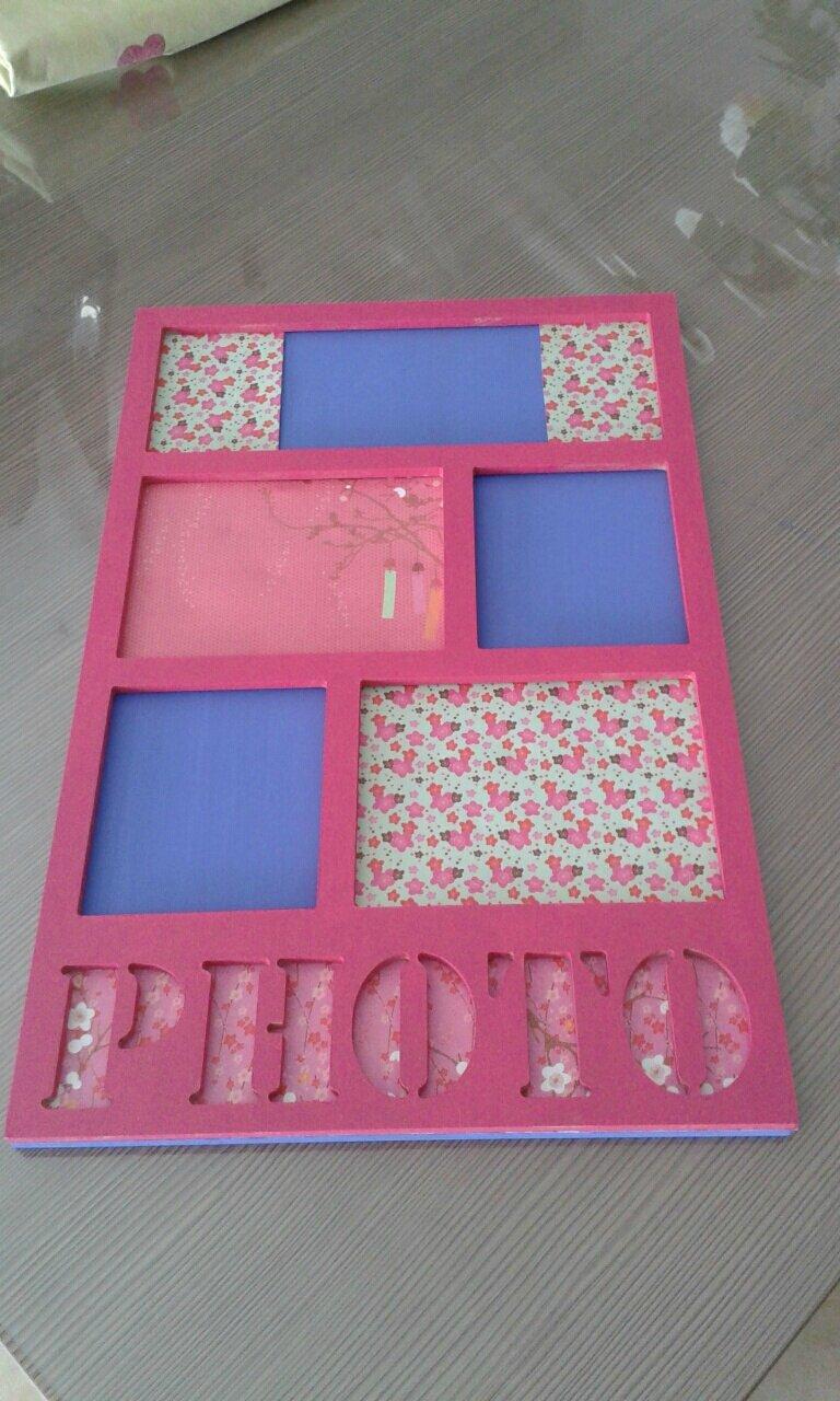 un joli cadre photo les petites recettes de chim ne et mamounette. Black Bedroom Furniture Sets. Home Design Ideas