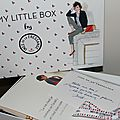 Le flop de my little box en mode inès de la fressange