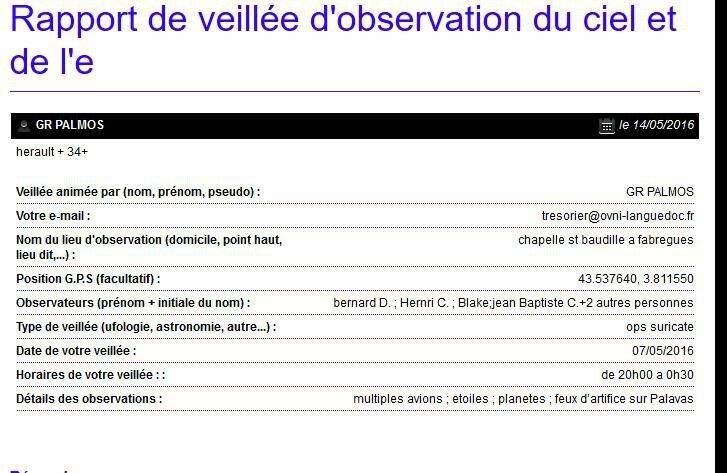 rapport suricate du 07052016