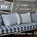 Lit de bébé en fer forgé transformer un canapé pour les longues siestes d'été !