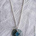 Collier Resurrexit (turquoise)