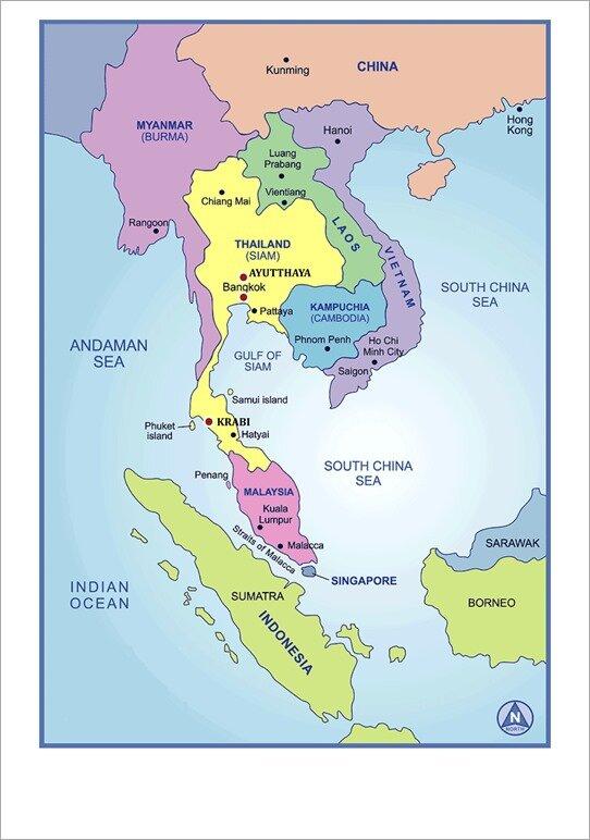 Carte-Thailande.gif 787×1112 pixels