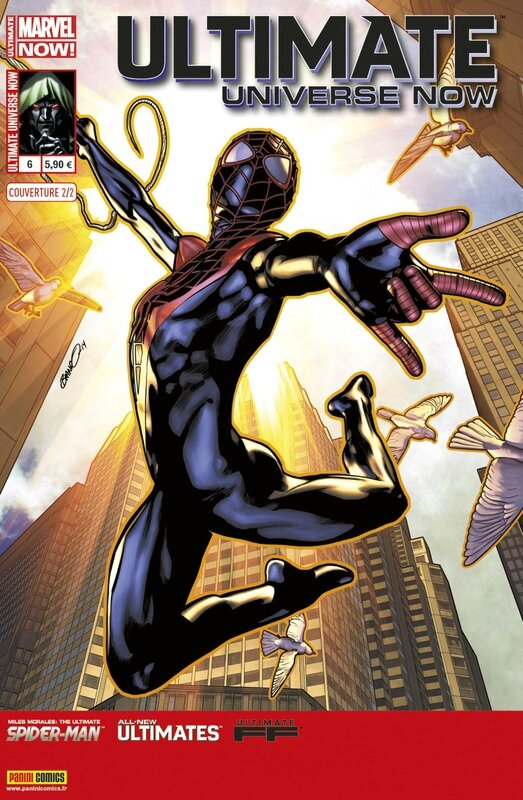 ultimate universe now 6 cover 2