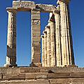 Les plus beaux sites du péloponnèse en voilier - jour j+6 : le temple de poséidon à cap sounio (vidéo). visit of cape sounion