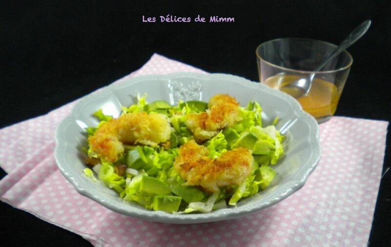 Salade de crevettes croustillantes pour la Saint-Valentin3