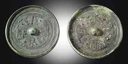 two_bronze_circular_mirrors_eastern_han_dynasty_d5418316h