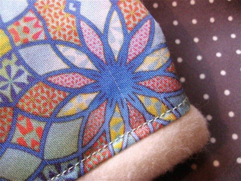 snood tissu Blueann Création
