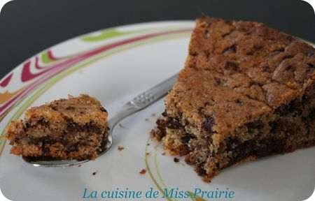 Gâteau comme un cookie géant