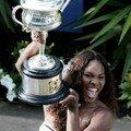 C'est par la détermination que vient la réussite, seréna Williams open d'australie 2007
