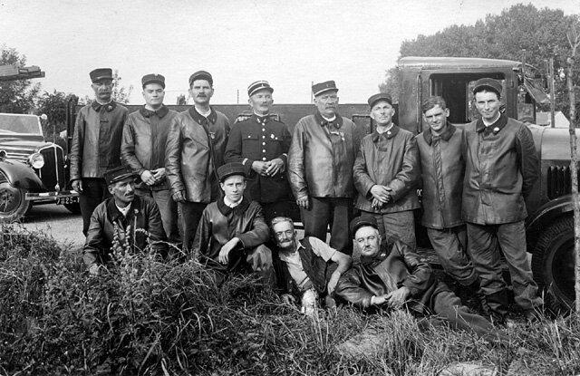 Sapeurs Pompiers Avril 1944