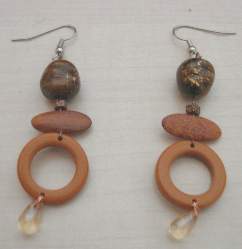 boucles marrons
