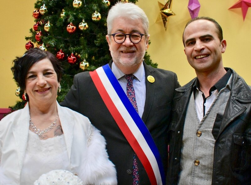 MARIAGE 2018 RABY HADID ET MURIEL PETIT