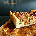 Quiche aux Poivrons et Chorizo