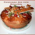 Couronne des rois brioche