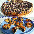 Muffins aux myrtilles & clafoutis aux myrtilles