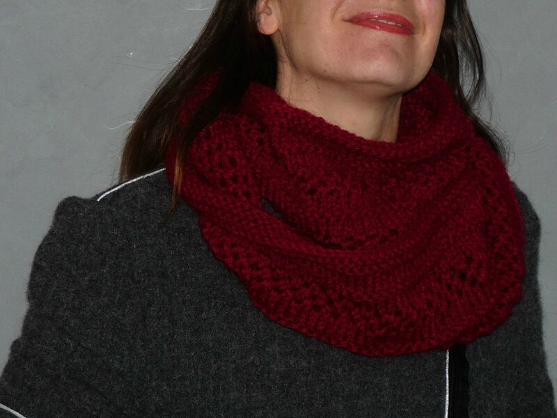 snood dentelle 1