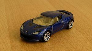 Lotus evora de 2008 de chez Matchbox (2007) au 1