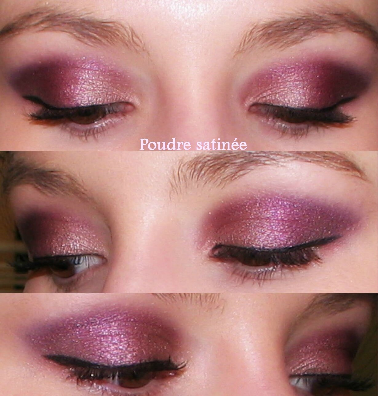 Maquillage marron rose - Maquillage de soiree yeux marron ...