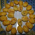 Des madeleines salées pour l'apéro!!!