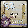 52 photos pour 2016 : mars